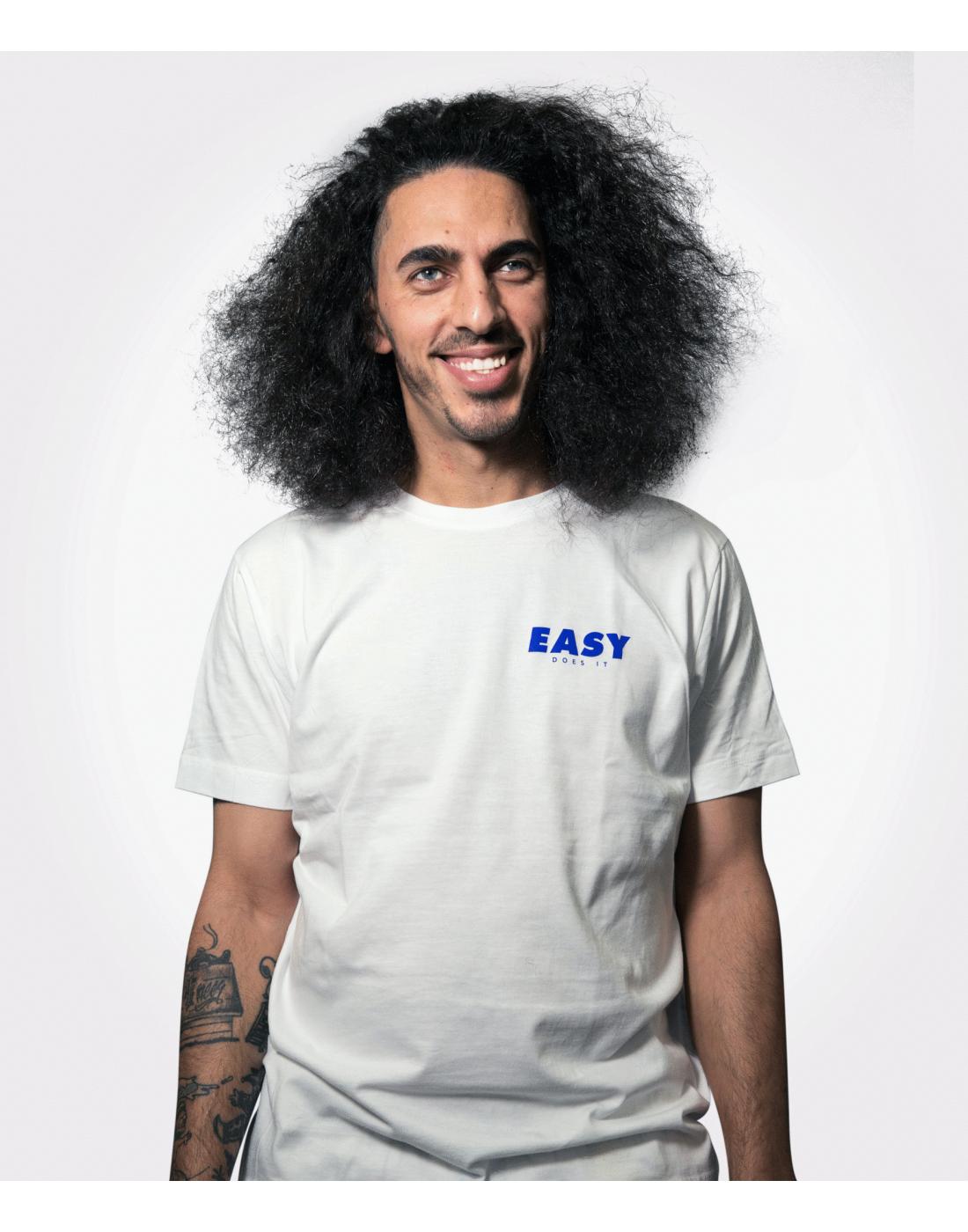 EASY Shirt Small Blue