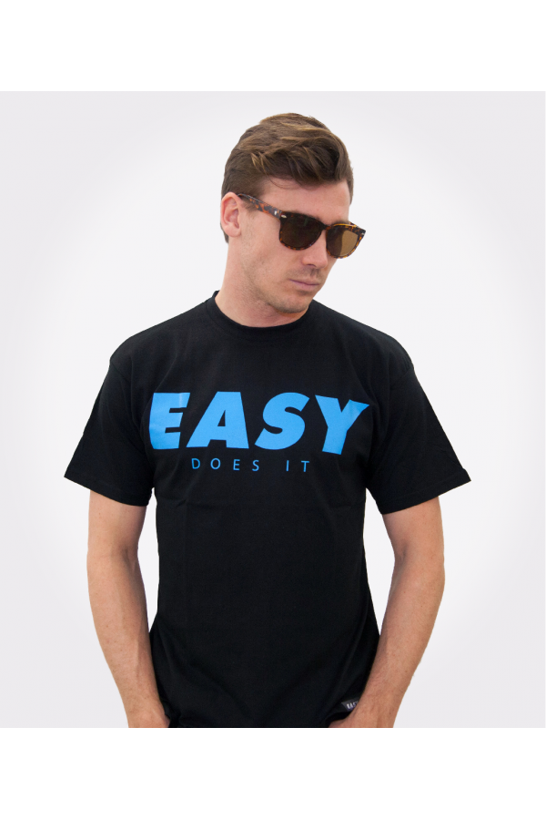 EASY Shirt Black Blue